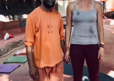 Goa Inde Yoga Swami Yogananda Nathalie Angly