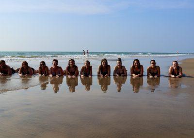 Goa Inde retraite de Yoga Nathalie Angly