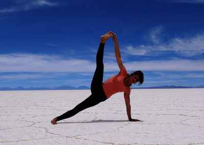 Bolivie Salar de Uyuni, voyage amériques Nathalie Angly Yoga